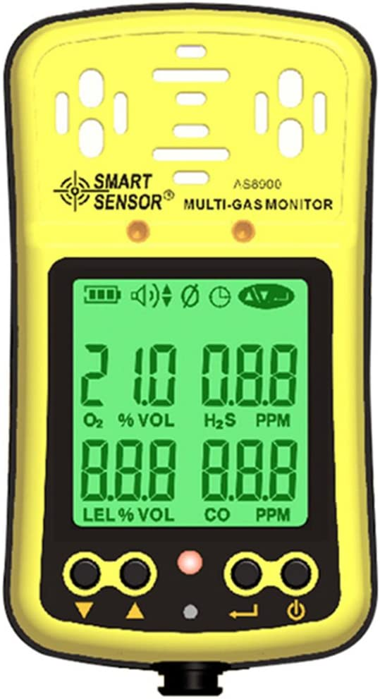 Mesa Mall 100% quality warranty Smart Sensor Digital Oxygen Combustil Monoxide Carbon Hydrothion