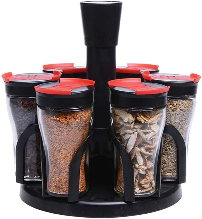 YELLAYBY Seasoning Special sale item Organizers Hat Cre Max 62% OFF Set Rotating Pot