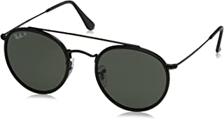 Ray-Ban Women's Round Aviator Flash Sunglasses