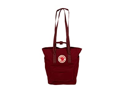 Fjallraven Kanken Totepack (Ox Red) Tote Handbags