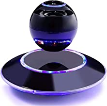 $238 » Levitating Floating Speaker, Wireless Bluetooth 4.0 Outdoor Rechargeable Speakers Mini Round Hi-Fi Flash LED Light 360° Bu...