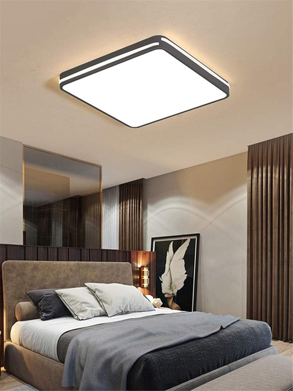 Zhouzhou666 Living Room lumière LED Ceiling lumière Room Bedroom lumière Hall lumière Restaurant lumière, Square blanc lumière, 42Cm
