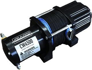 保証付 電動ウインチ 4500lb ファイバーロープ 12V ジムニーに最適 シーエルリンク ウィンチ