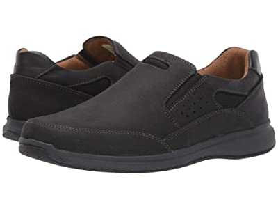 Florsheim Kids Great Lakes Sport Slip, Jr. (Toddler/Little Kid/Big Kid) (Black Crazy Horse) Boy