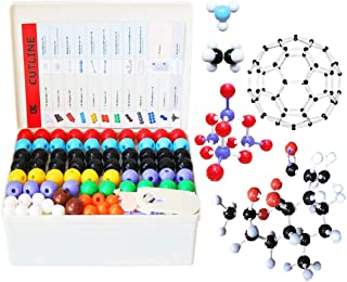 LINKTOR Chemistry Molecular Model Kit (444 Pieces), Student or Teacher Set for Organic and Inorganic Chemistry Learning, M...