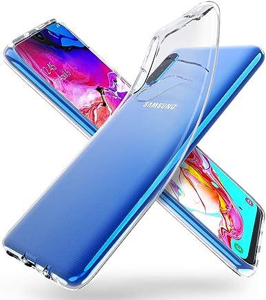 """ORNARTO Funda para Samsung A70, Transparente Delgada Silicona Flexible Ajuste Proteger Caso Absorción de Golpes Parachoques Protective Carcasa para Samsung Galaxy A70(2019) 6,7"""""""