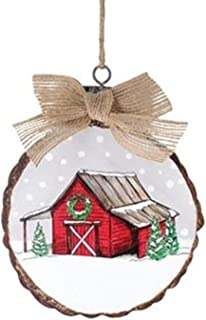 Best barn wood christmas ornaments Reviews