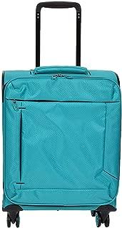 NJC Super Lightweight Cabin 4 Wheel Spinner Suitcase Travel Trolley Bag Teal