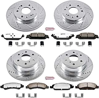 Power Stop K6560-36 Z36 Truck & Tow Front and Rear Brake Kit