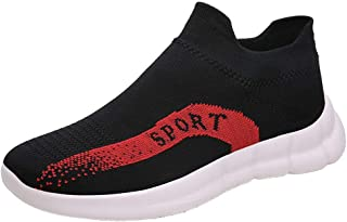 Yamall Men'S Running Athletic Shoes Breathable Lightweight Fashion Sneakers Casual Walking Shoes