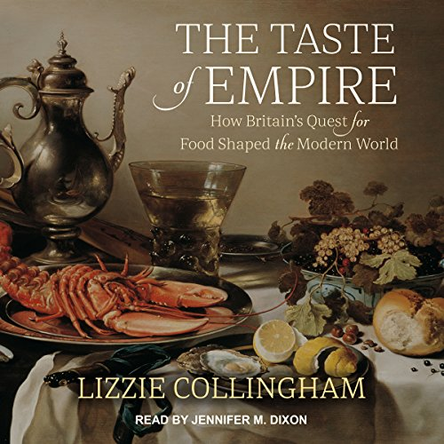 The Taste of Empire audiobook cover art