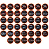 Brooklyn Beans Coffee Pods Medium Roast Gourmet Variety Pack, Compatible with 2.0 Keurig K Cup Brewers, 40 Count