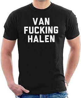 2a8ee2d40 Soft-T Van Fucking Halen Mens Casual Black T Shirts