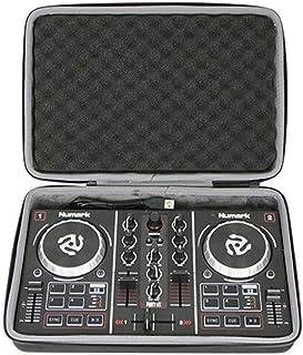 Zebroau Estuche rígido Estuche de viaje para Numark Party Mix DJ Starter Controller A prueba de polvo EVA a prueba de salpicaduras (negro)
