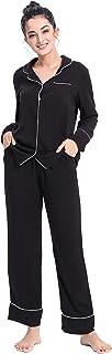 منامات ناعمة من Felusema للنساء، مجموعة ملابس نوم للنوم S-XXL