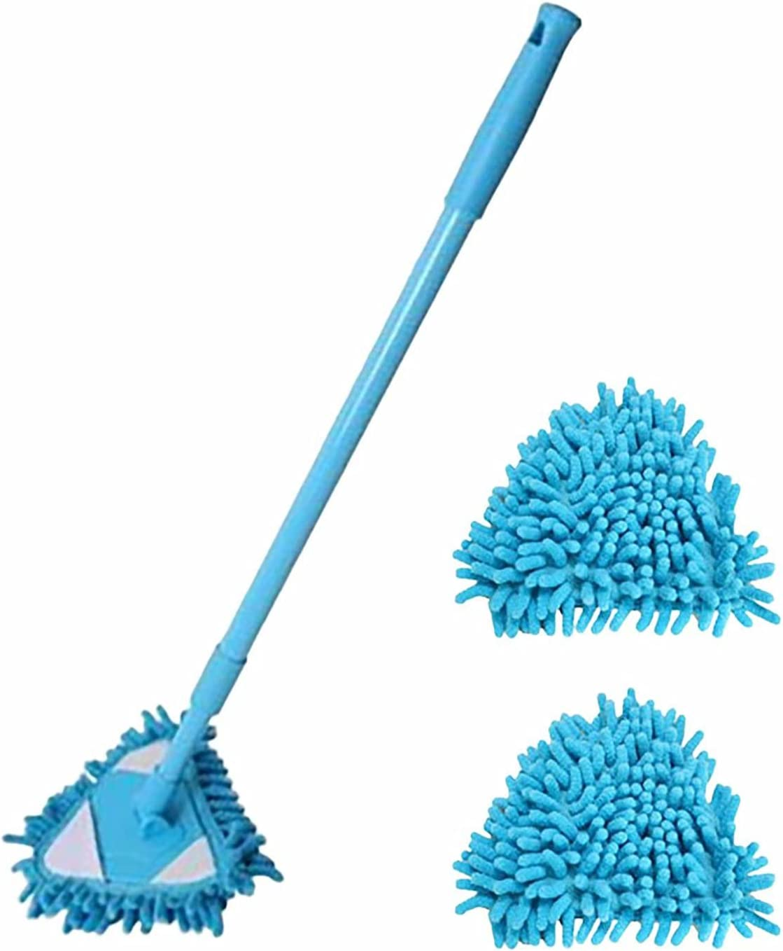 Be super welcome Extendable Triangle Mop 180 Degree Cleaning Adjustable Rotatable Low price