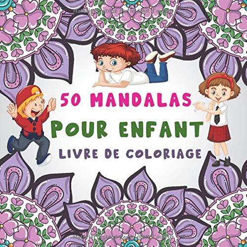 Livre de coloriages de mandalas pour enfants