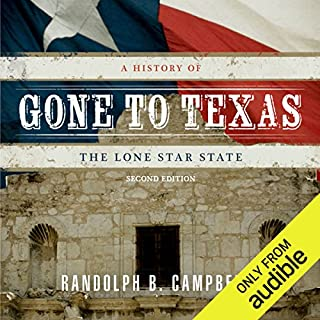 Gone to Texas audiobook cover art