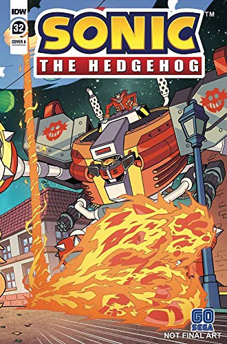 Amazon Com Sonic The Hedgehog 2018 32 Ebook Flynn Ian Thomas Adam Bryce Kindle Store