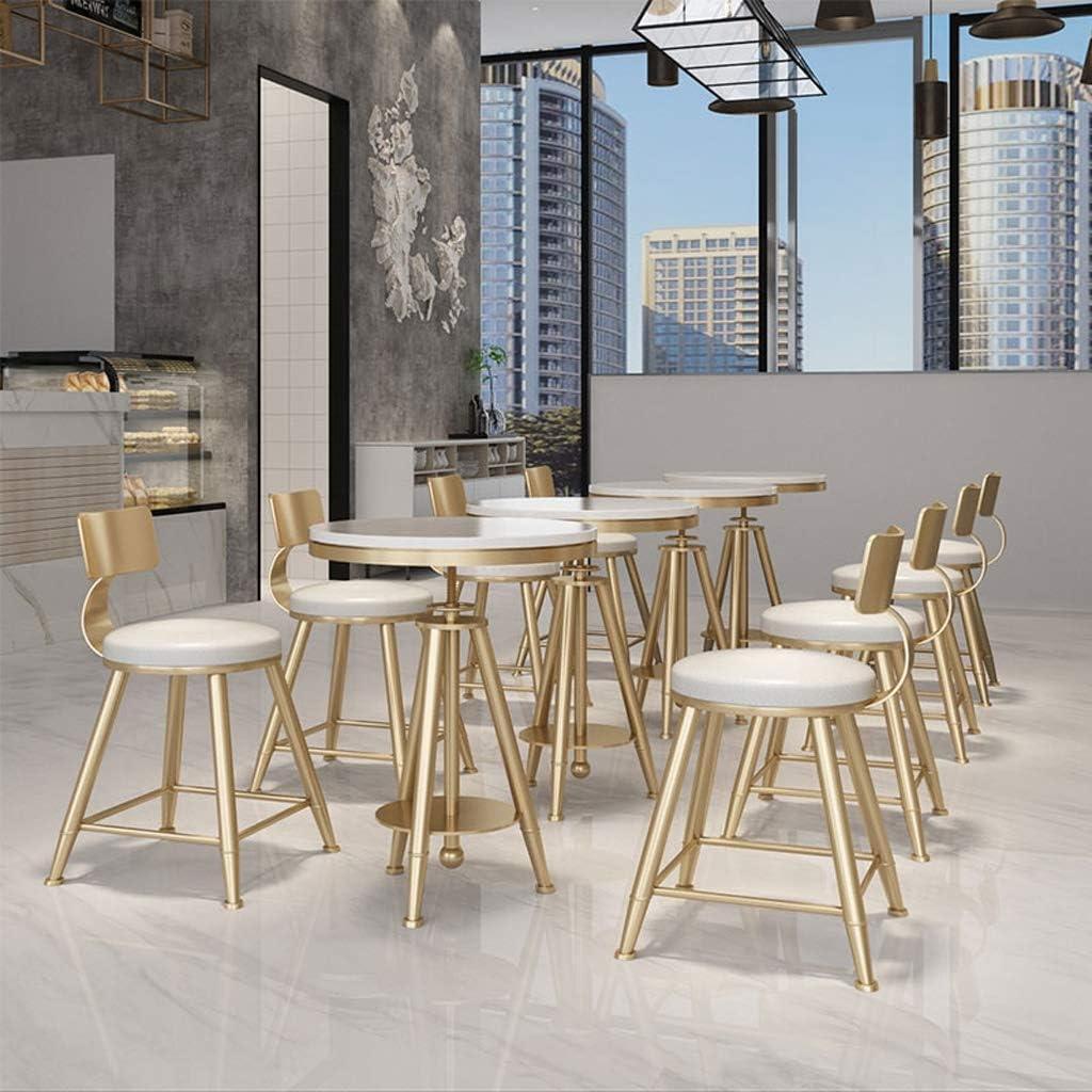 XXT Chaise de salle, Chaise de bureau simple, créative Dossier, Chaise Loisirs, Maison adulte Chaise de salle Durable (Color : White) White