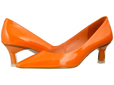 Vaneli Sada (Orange Wrinkle Patent) Women