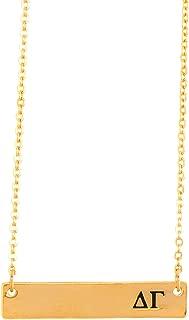 delta gamma bar necklace