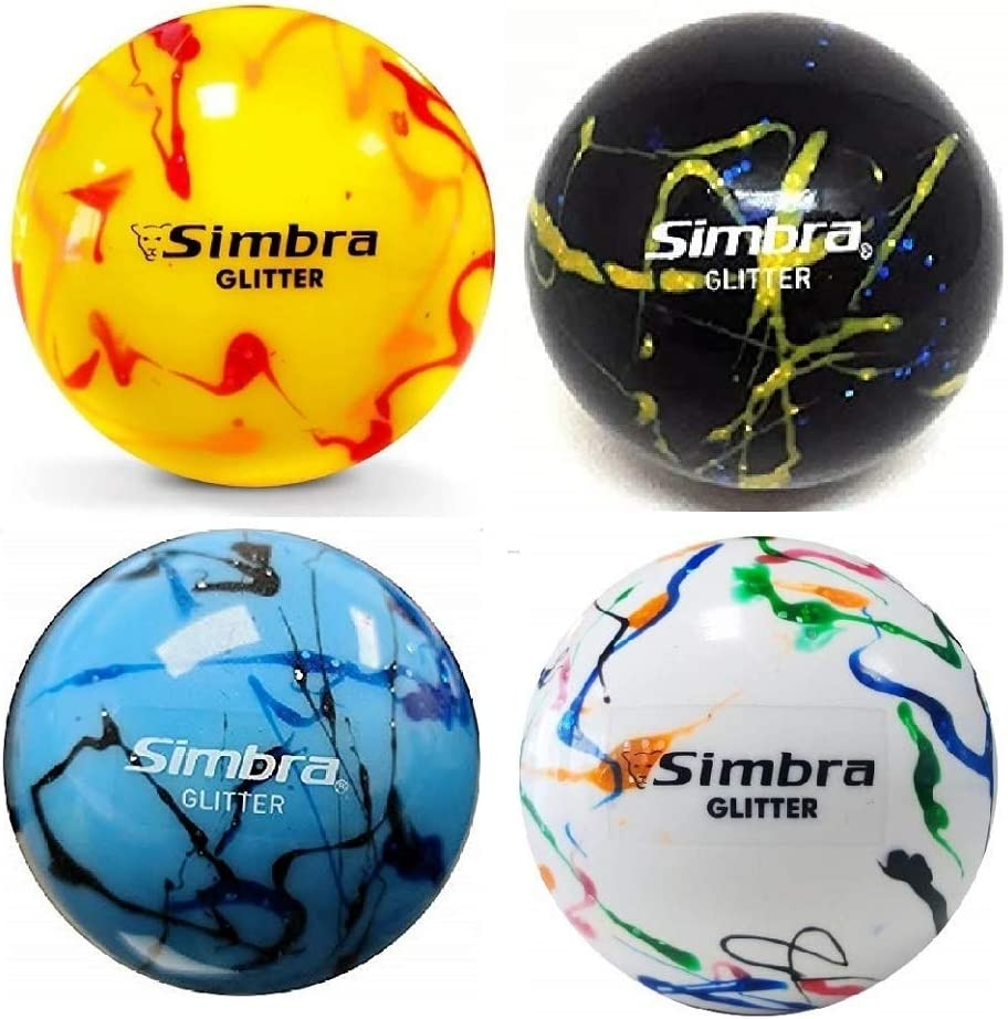 Simbra Field Hockey Ball Glitter S 157Gr PVC 2021 spring and summer new Genuine Shiny Hollow-Core