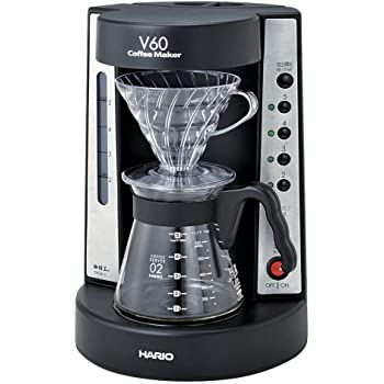 HARIO V60 珈琲王コーヒーメーカー 2~5杯用 ブラック EVCM-5B