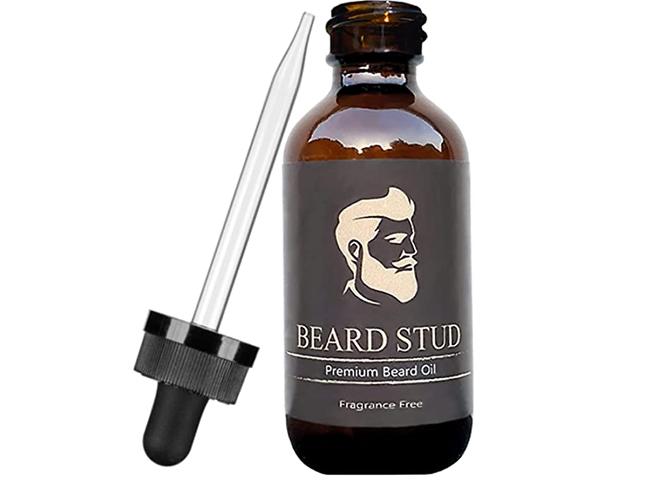 Beard Oil and Conditioner by Beard Stud - Fragrance Free - 2oz