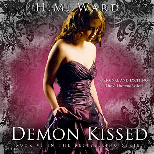 Demon Kissed audiobook cover art