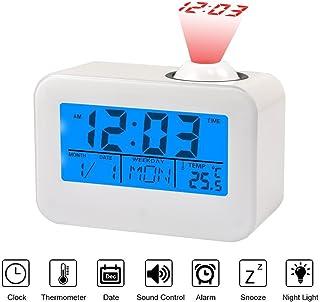 Amazon.es: reloj despertador con voz luz temperatura ...