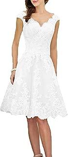 Best short off white wedding dresses Reviews