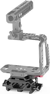 SMALLRIG BMPCC Baseplate for Manfrotto 501PL Compatible with Black Design Pocket Cinema Camera 4K & 6K – 2266