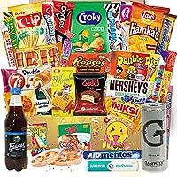 ✔ Amerikanische Süßigkeiten, Snacks & Getränke ✔ Verschiedene Süßigkeiten aus aller Welt ✔ 27 Teile ✔ Wechselndes Sortiment, jede Bestellung eine tolle Überraschung ✔ Express Versand aus Deutschland