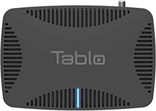 Tablo Quad Over-The-Air [OTA] Digital Video Recorder [DVR] for Cord Cutters - with WiFi, Live TV Streaming, & Automatic Co...