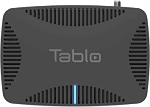 Tablo Quad Over-The-air [OTA] Digital Video Recorder [DVR] for Cord Cutters - with WiFi, Live TV Streaming, & Automatic Commercial Skip