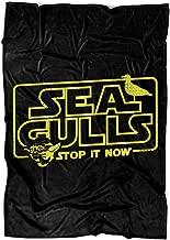 Seagulls Stop It Now Soft Fleece Throw Blanket, Yoda Song Fleece Luxury Blanket (Medium Blanket (60