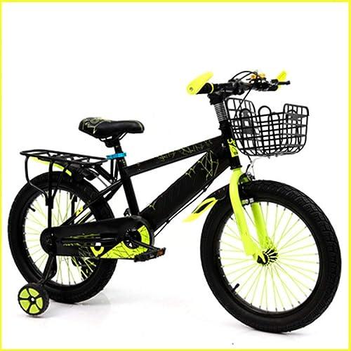 entrega rápida Axdwfd Infantiles Bicicletas Bicicletas Bicicletas Bicicletas para Niños Bicicletas para Niños 12 14 16 18 Pulgadas Ciclismo para Niños y niñas, Adecuado para Niños de 2 a 9 años amarillo rojo azul  distribución global