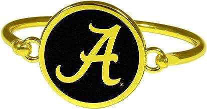Siskiyou NCAA unisex-adult Gold Tone Bangle Bracelet