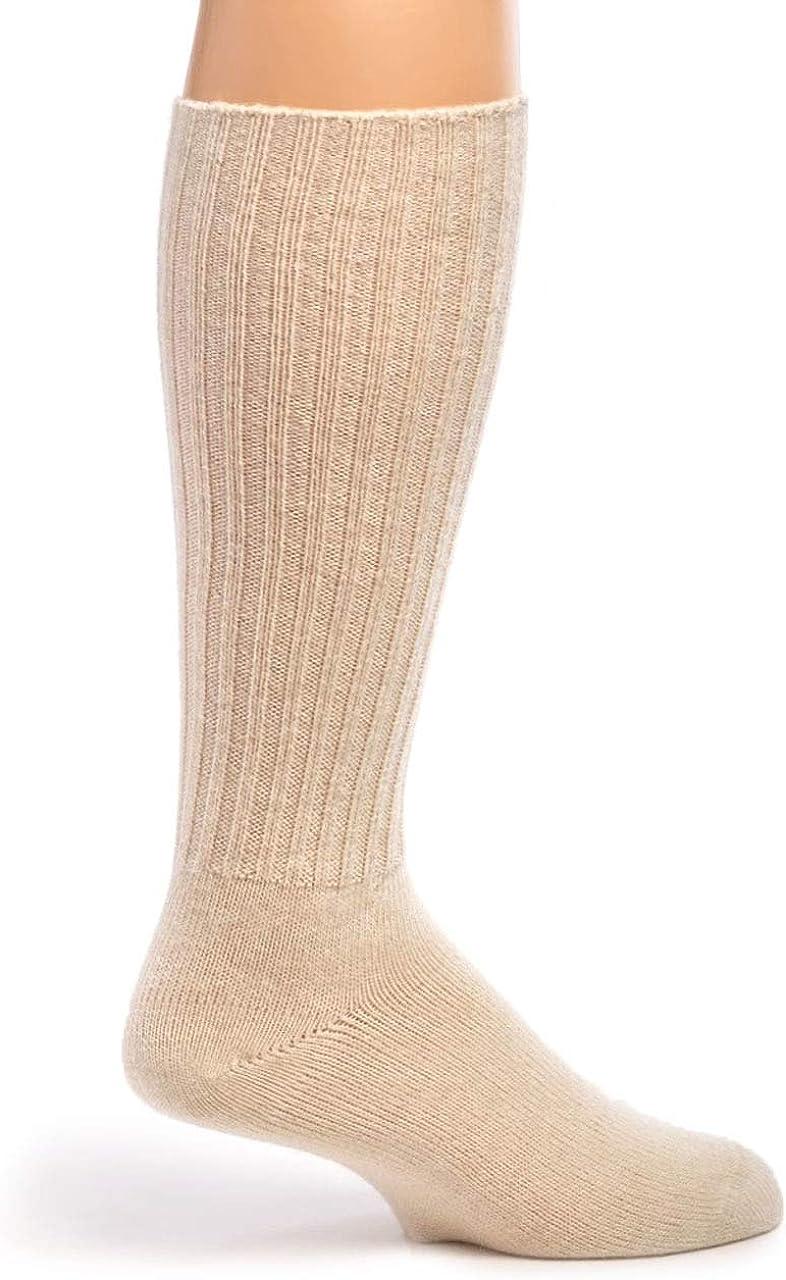 Warrior Alpaca Socks - Ribbed Casual Everyday Alpaca Wool Crew Socks For Men And Women
