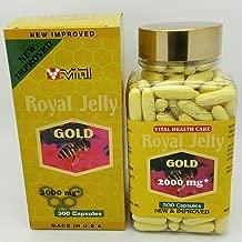 New Improved Vital Royal Jelly Gold 2000 mg 300 Softgels