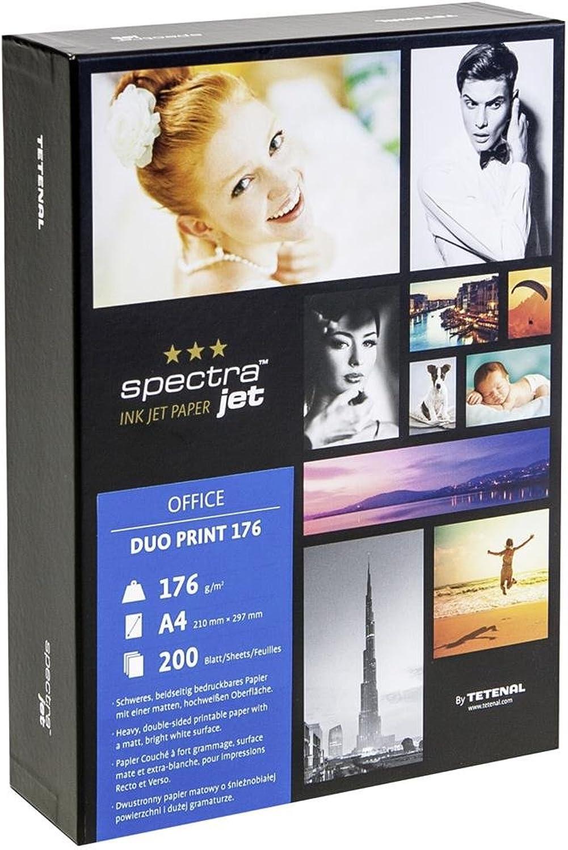 Tetenal 130161 Spectra JET JET JET Duoprint 200 A4 Druckerpapier B00OD6WKL4 | Export  1f5a2b