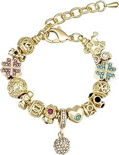 8c91fd8a21ed Amazon.es: pulseras de oro: Joyería