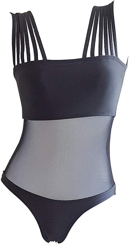 WARM home Kreativ Damen Badeanzug, Mesh-Perspektive und und und Schultergurt, hohe Größe und sexy Bikini B07Q7VHB65  Sehr praktisch cb9977