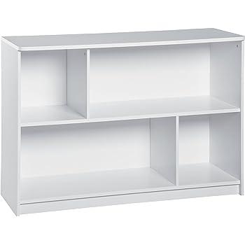 ClosetMaid 1498 KidSpace 2-Tier Horizontal Storage Shelf, White
