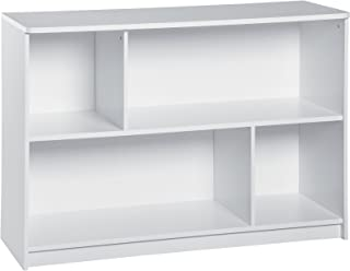 ClosetMaid 1498 KidSpace 2-Tier Horizontal Storage Shelf, White