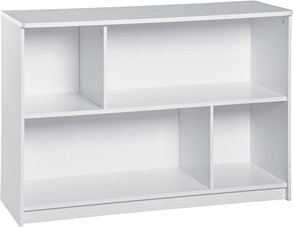 ClosetMaid 1498 KidSpace 2 Tier Horizontal Storage Shelf White