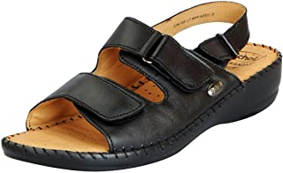 Dr.Scholls Women's Leather Wedge Sandals