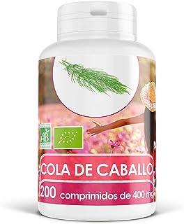 Cola de Caballo Orgánica - 400 mg - 200 comprimidos