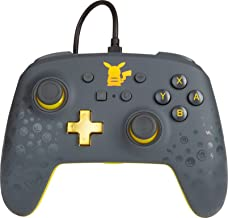 Powera 1517916-01 Controle P/ Nsw Enhanced Enwired Pikachu Gray - Nintendo_switch